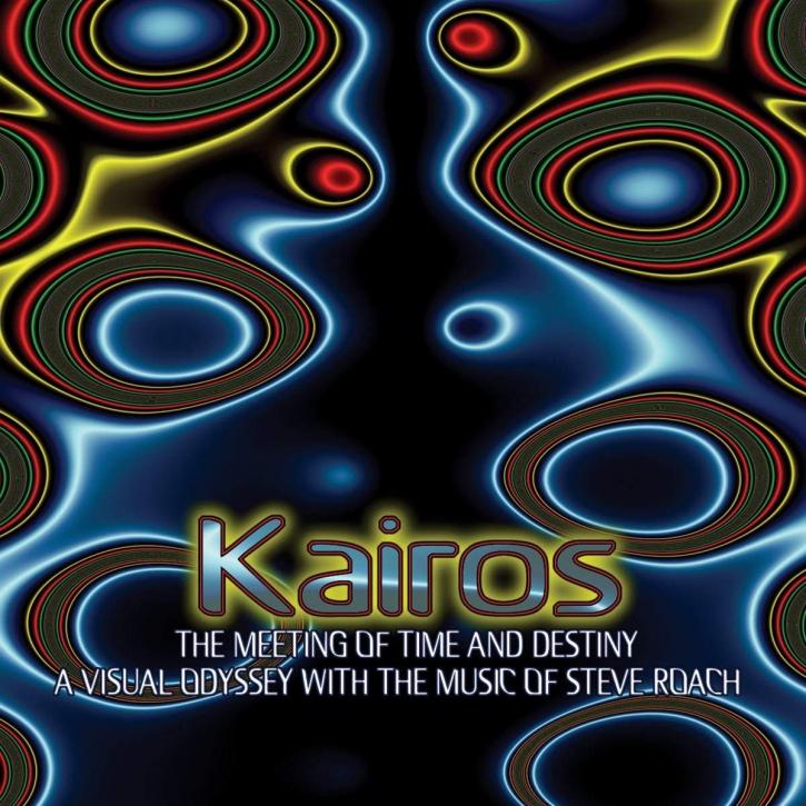 STEVE ROACH Kairos  - The Meeting of Time and Destiny DVD+CD A5 Digipack 2006