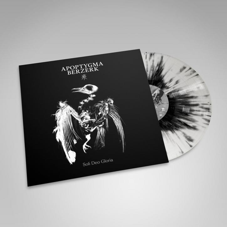 APOPTYGMA BERZERK Soli Deo Gloria (25th Anniversary) LP BLACK SPLATTER VINYL 2018