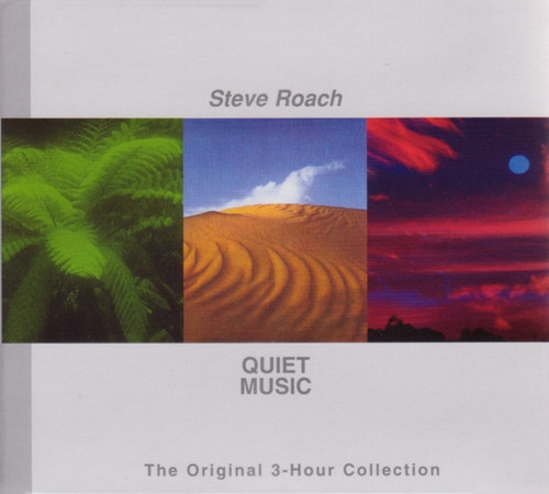 STEVE ROACH Quiet Music (The Original 3-Hour Collection) 3CD Digipack 2011
