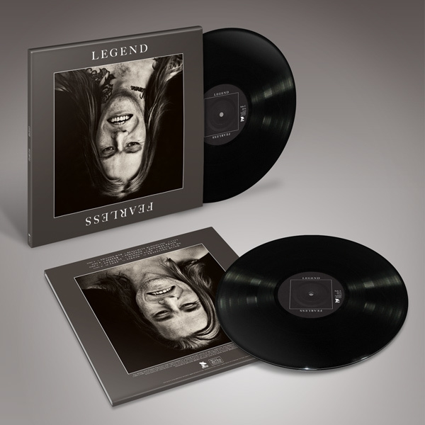 LEGEND Fearless 2LP BLACK VINYL 2018