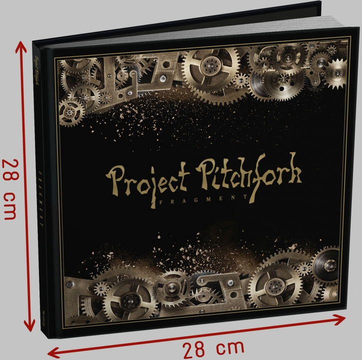 PROJECT PITCHFORK Fragment 2CD+BUCH EDITION 2018 LTD.2000