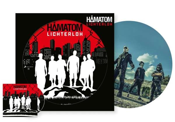 "HÄMATOM Lichterloh LIMITED 12"" PICTURE VINYL + CD 2018"
