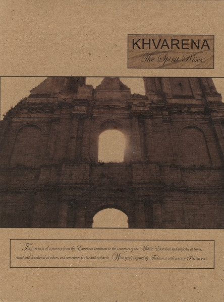 Rajna side project: KHVARENA The Spirit Rises LIMITED A5 Digipack 2007