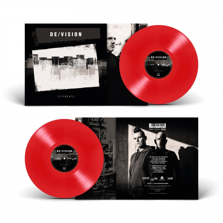 DE/VISION Citybeats LIMITED LP RED VINYL 2018