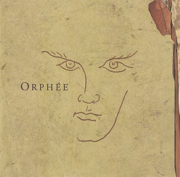Orphee CD 2000 black tape for a blue girl UNTO ASHES