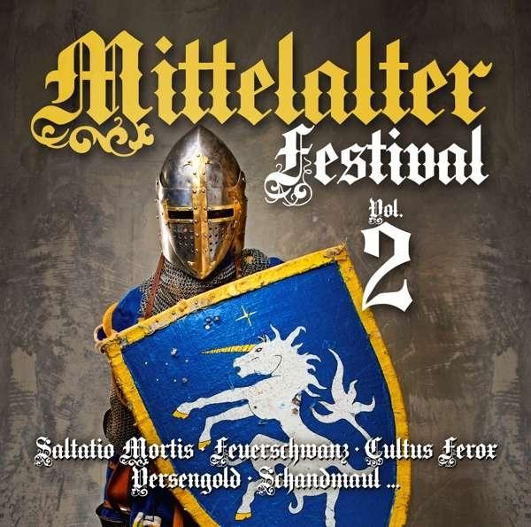 MITTELALTER FESTIVAL VOL.2 CD 2017 Feuerschwanz VERSENGOLD Saltatio Mortis