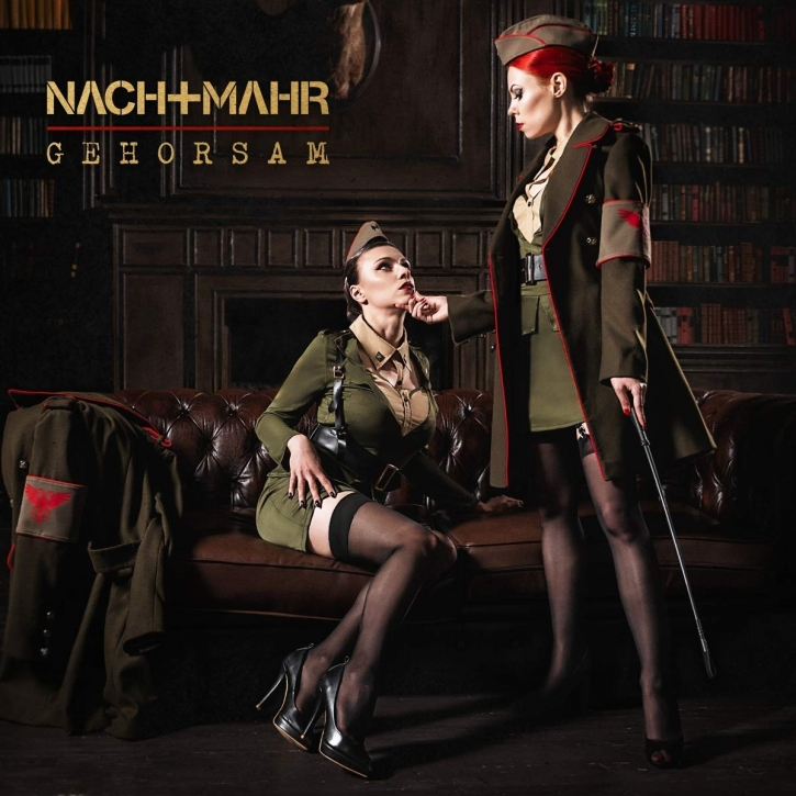 NACHTMAHR Gehorsam EP CD Digipack 2018 LTD.999