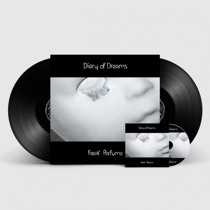DIARY OF DREAMS Freak Perfume 2LP VINYL+CD 2018 LTD.500