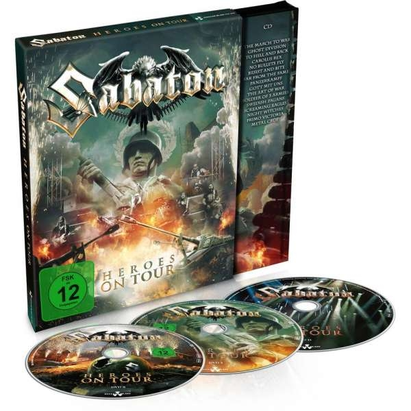 SABATON Heroes On Tour: Live 2015 2DVD + CD 2016