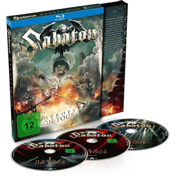 SABATON Heroes On Tour: Live 2015 2BLU-RAY + CD 2016