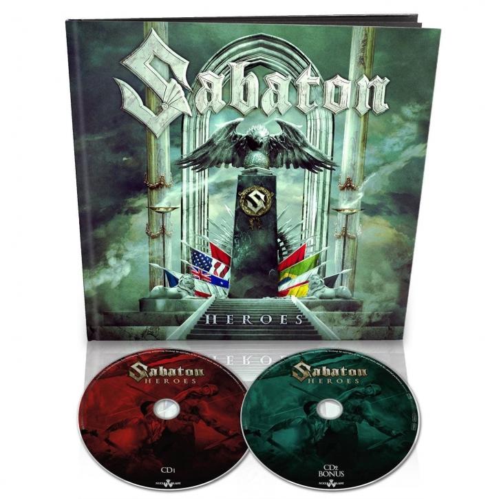 SABATON Heroes LIMITED 2CD EARBOOK 2014