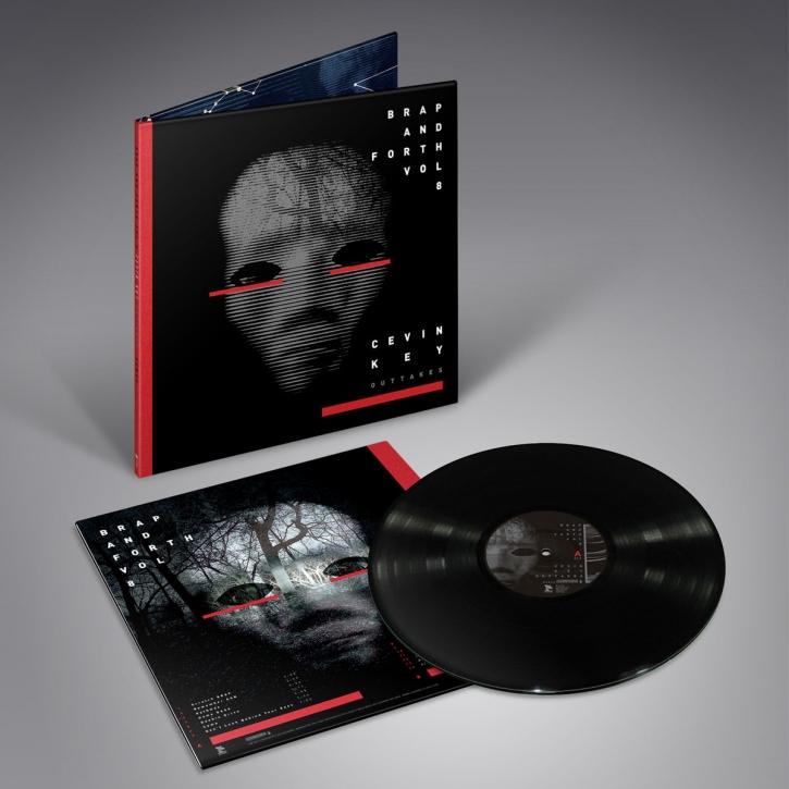 CEVIN KEY Brap & Forth Vol.8 LP BLACK VINYL 2018