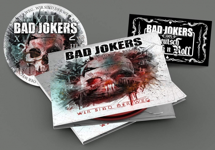 BAD JOKERS Wir Sind Der Weg (Inkl. Patch + Sticker) CD Digipack 2018