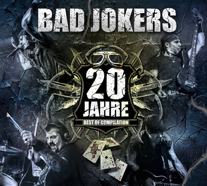 BAD JOKERS 20 Jahre - Best Of Compilation CD Digipack 2015