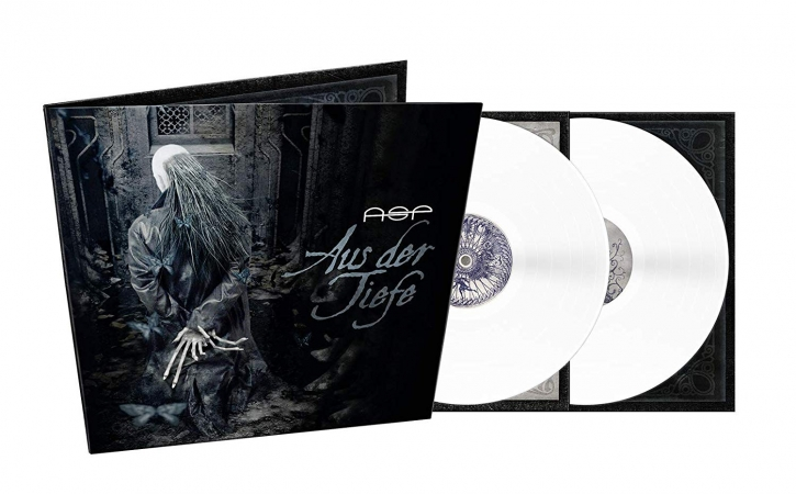 ASP Aus Der Tiefe 2LP GATEFOLD BRIGHT WHITE VINYL 2019 LTD.500
