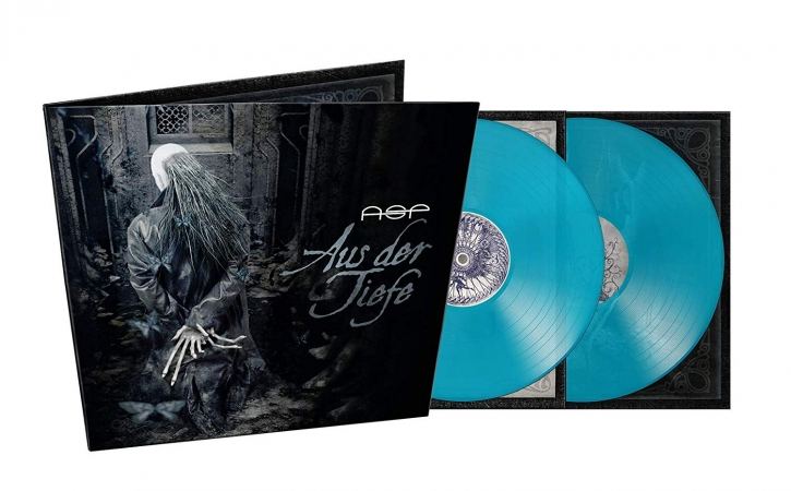 ASP Aus Der Tiefe 2LP GATEFOLD SEA BLUE VINYL 2019 LTD.500