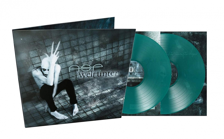 ASP Weltunter 2LP GATEFOLD DEMON GREEN VINYL 2019 LTD.500 (VÖ 11.01)