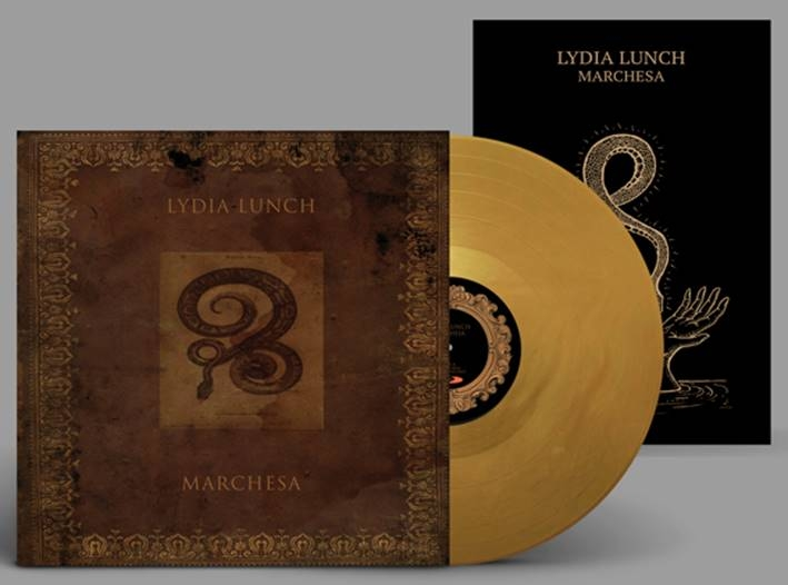 LYDIA LUNCH Marchesa LP GOLD VINYL + POSTER 2018 LTD.499