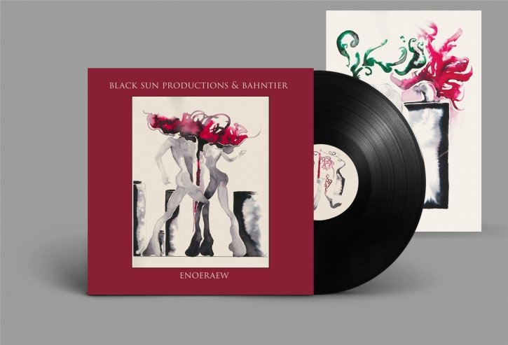 BLACK SUN PRODUCTIONS & BAHNTIER Enoeraew LIMITED LP VINYL + POSTER 2018
