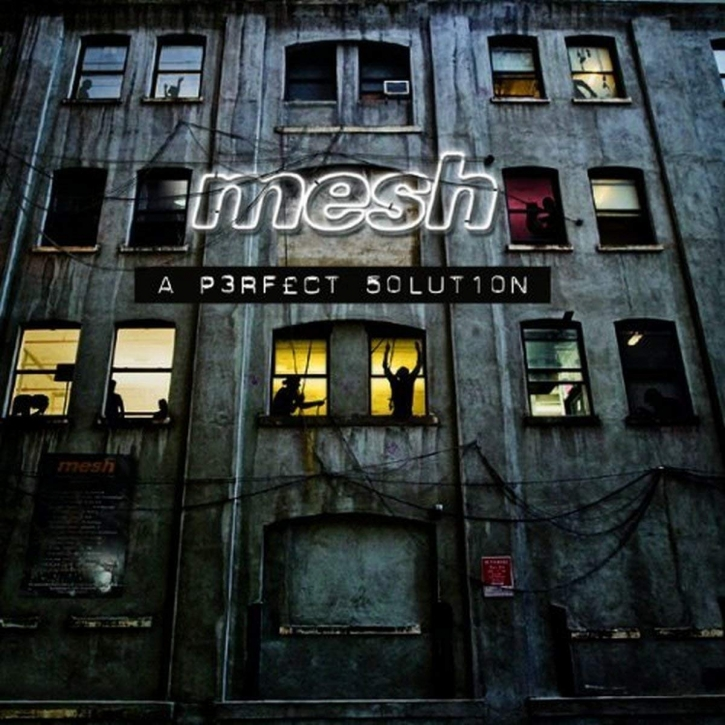 """MESH A Perfect Solution LIMITED BOX CD + 7"""" VINYL 2009"""