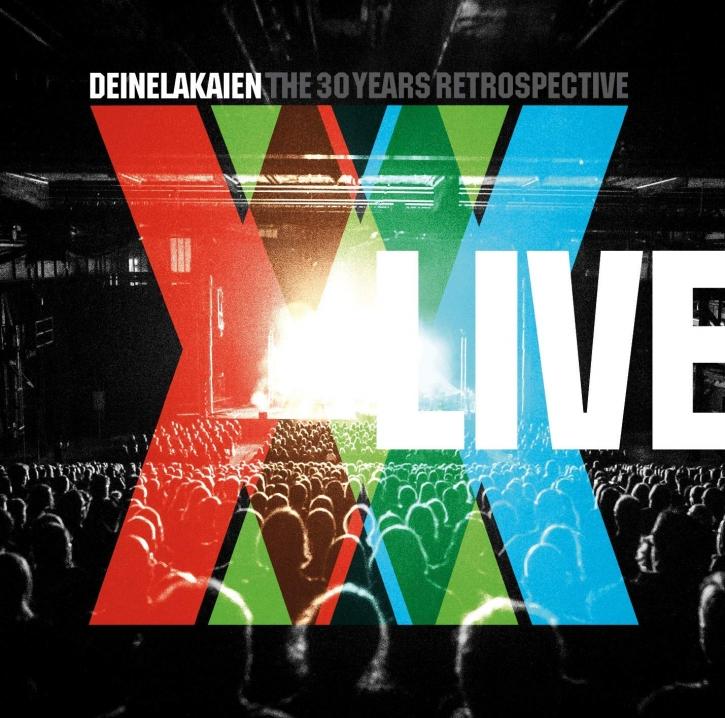 DEINE LAKAIEN The 30 Years Retrospective Live 2CD+DVD DigiBook 2018