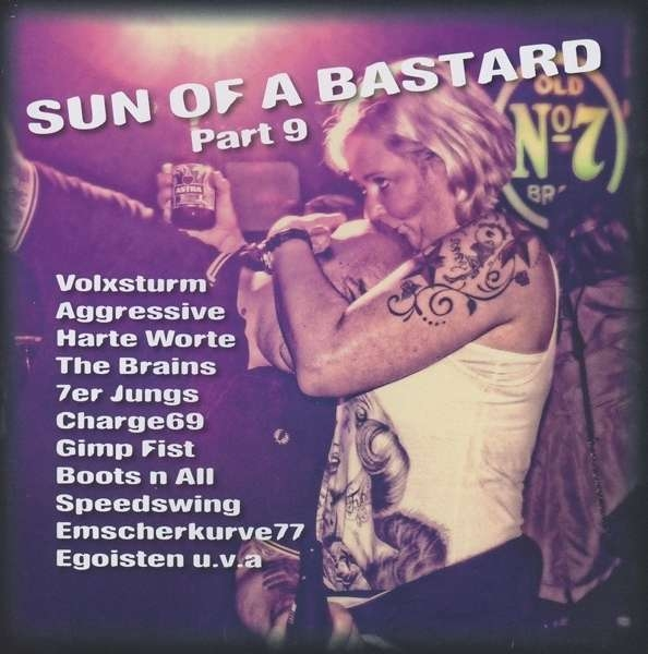 SUN OF A BASTARD VOL.9 CD 2016 Harte Worte VOLXSTURM Emscherkurve 77
