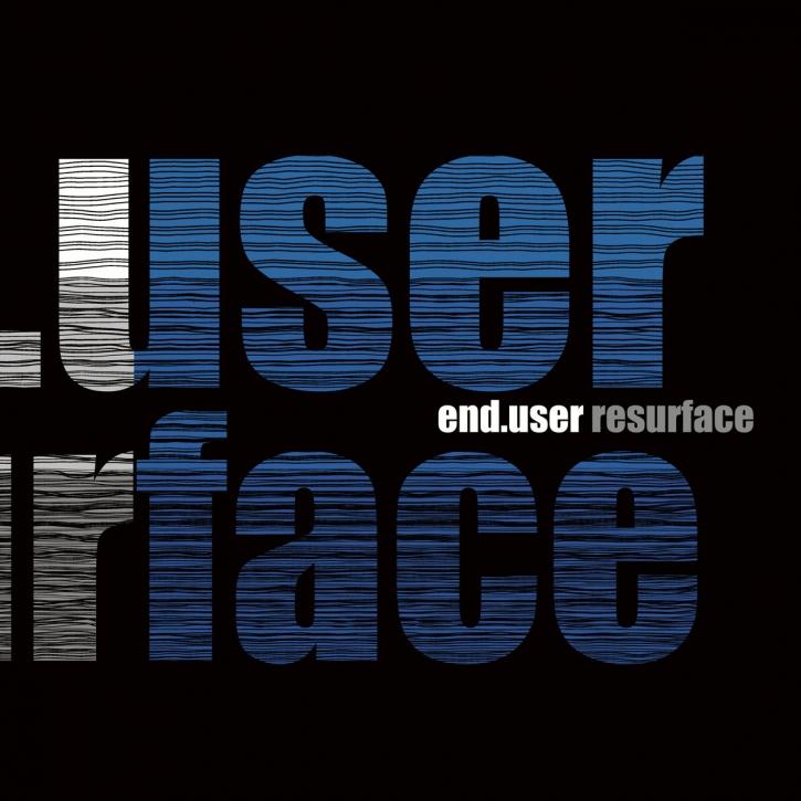 END.USER Resurface CD Digipack 2018 HANDS