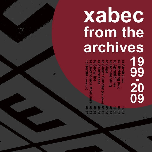 XABEC From the Archives 1999-2009 CD Digipack 2018 HANDS