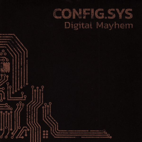 CONFIG.SYS Digital Mayhem CD Digipack 2018