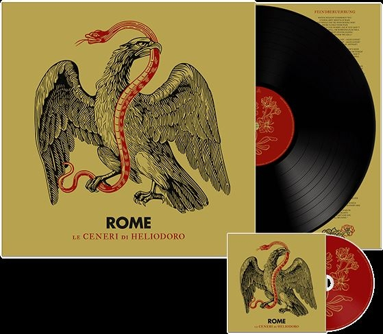 ROME Le Ceneri di Heliodoro (US Edition) LP VINYL+CD 2019 LTD.500 (VÖ 18.01)
