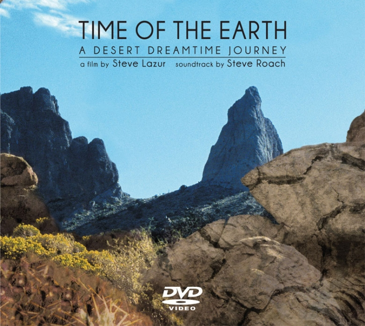 STEVE ROACH Time Of The Earth LIMITED DVD Digipack 2018
