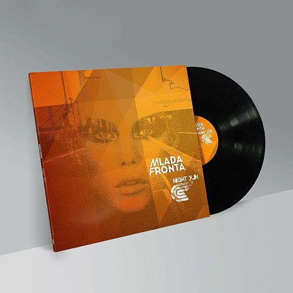 MLADA FRONTA Night Run LP BLACK VINYL 2014 LTD.200