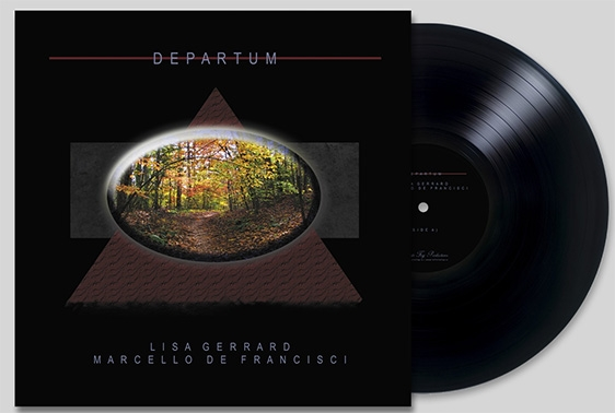 LISA GERRARD & MARCELLO DE FRANCISCI Departum LIMITED LP VINYL 2018