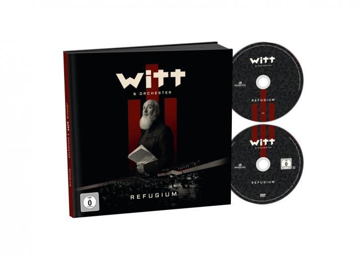 JOACHIM WITT Refugium CD+DVD EARBOOK 2019 (VÖ 22.02)