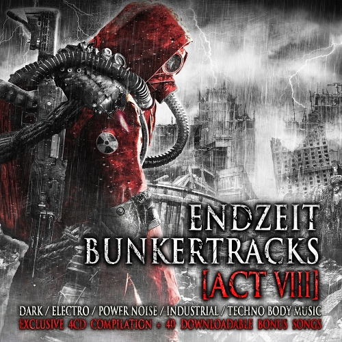 ENDZEIT BUNKERTRACKS 8 4CD BOX 2019 ALIEN VAMPIRES Blutengel FUNKER VOGT