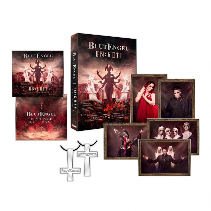 BLUTENGEL Un:Gott LIMITED 3CD BOX 2019