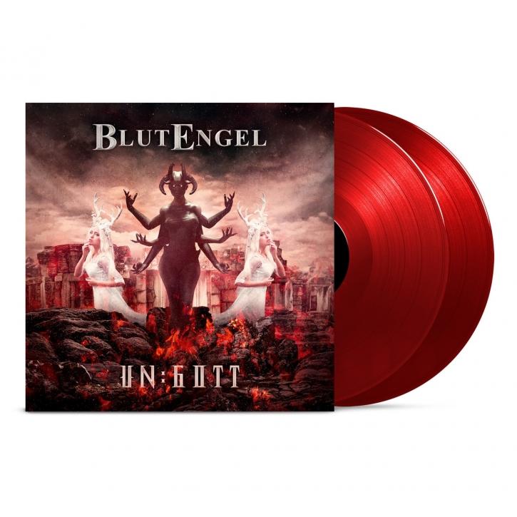 BLUTENGEL Un:Gott LIMITED 2LP GATEFOLD RED VINYL+MP3 2019