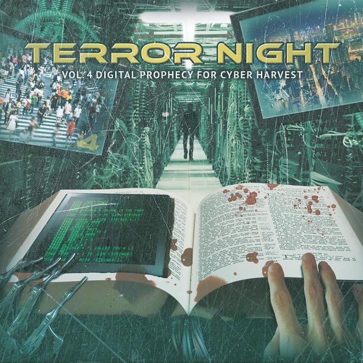 Terror Night Vol.4 Digital Prophecy For Cyber Harvest 2CD 2018 LTD.150 C-LEKKTOR