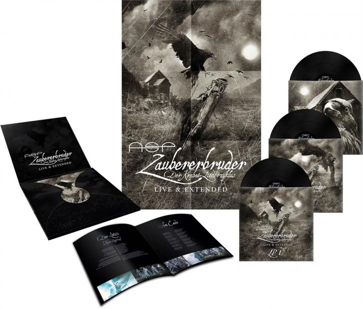 ASP Zaubererbruder Live & Extended 3LP VINYL 2019 LTD.666 (VÖ 08.03)