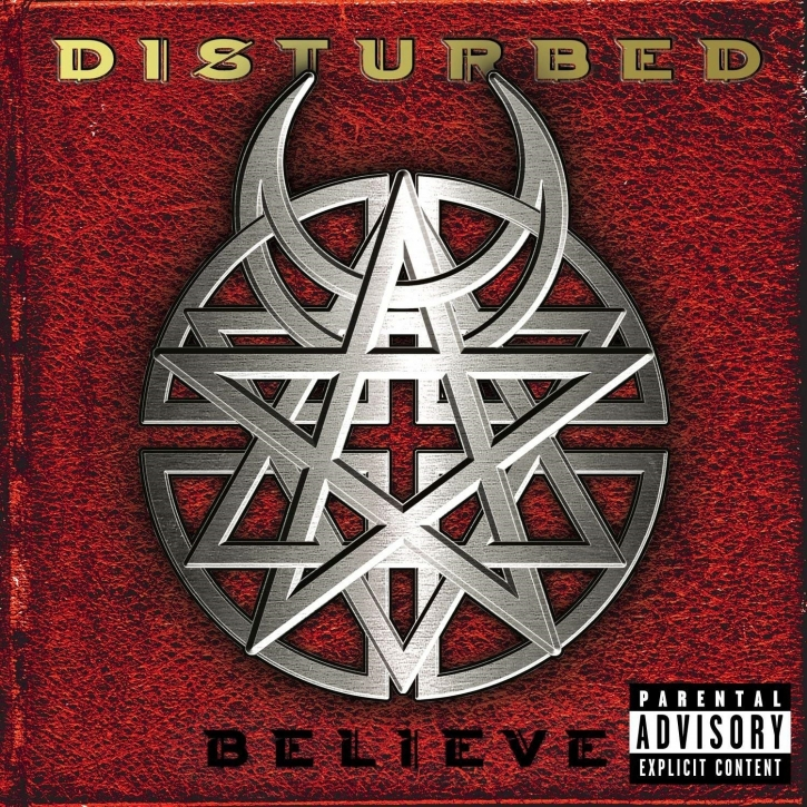 DISTURBED Believe CD 2002