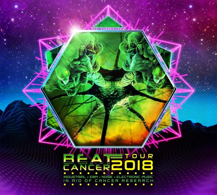 BEAT : CANCER TOUR 2018 CD Digipack 2018 LTD.200 Freakangel HOCICO Grendel