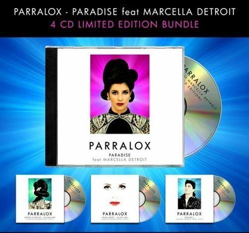 PARRALOX Paradise (Limited Super Deluxe Fan Bundle) 4CD SET 2018