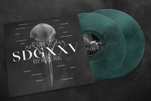 APOPTYGMA BERZERK SDGXXV 2LP Green/Black/Transparent VINYL 2019 LTD.300 (VÖ 12.04)