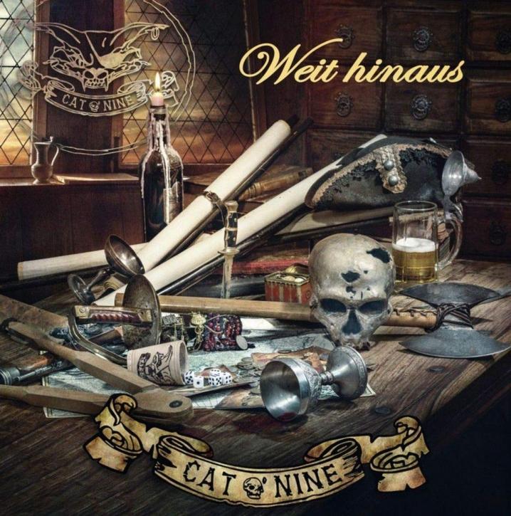 CAT O'NINE Weit hinaus CD Digipack 2019