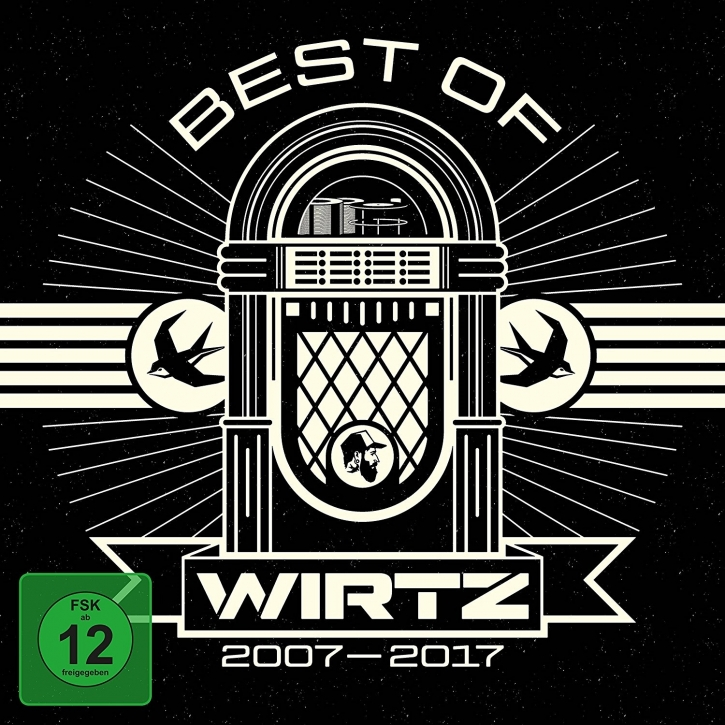 WIRTZ Best Of Wirtz 2007-2017 CD+DVD Digipack 2017