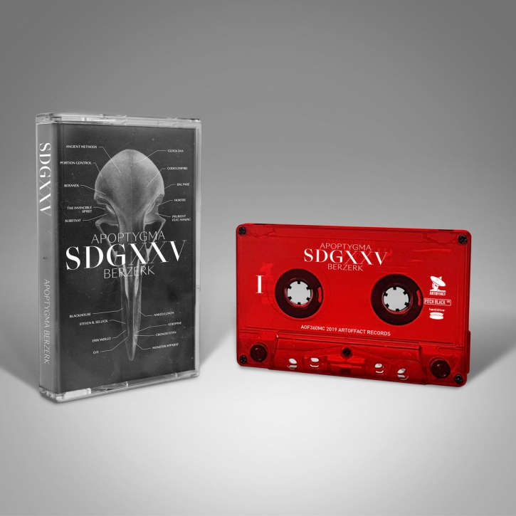 APOPTYGMA BERZERK SDGXXV MC TAPE (Red) 2019 LTD.66