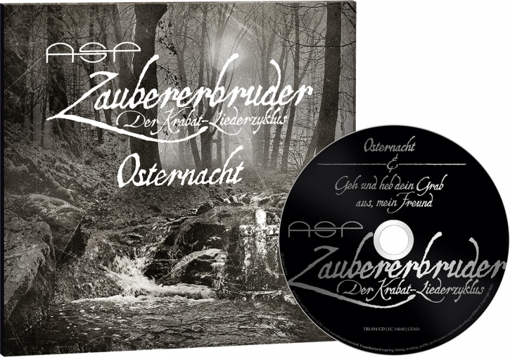 ASP Osternacht/Geh und Heb Dein Grab aus CD Digipack im Sonderformat 2019 LTD.999