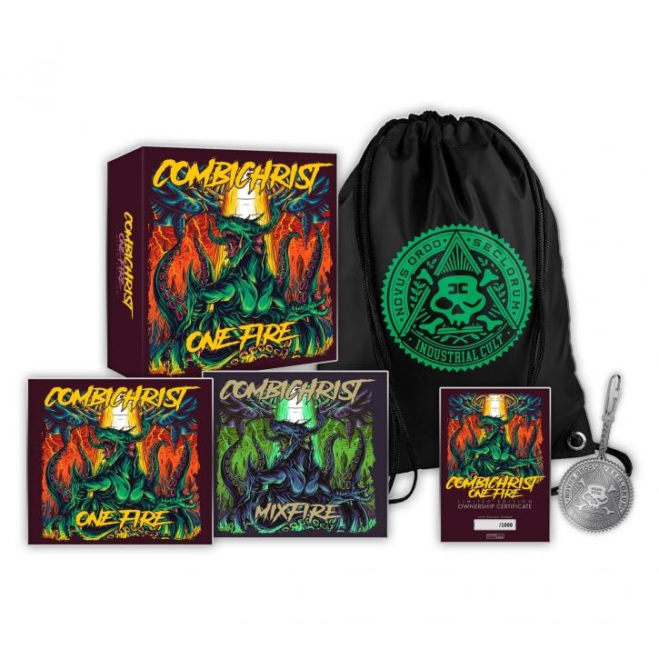 COMBICHRIST One Fire 3CD FANBOX 2019 LTD.1000 (VÖ 07.06)