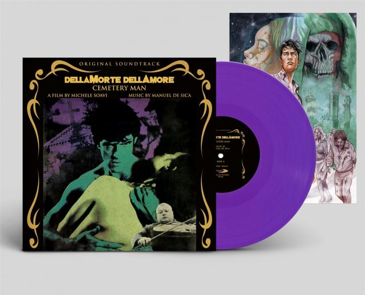 MANUEL DE SICA Dellamorte Dellamore (Cemetery Man) Original Soundtrack LP PURPLE VINYL 2019 LTD.499 (VÖ 19.04)