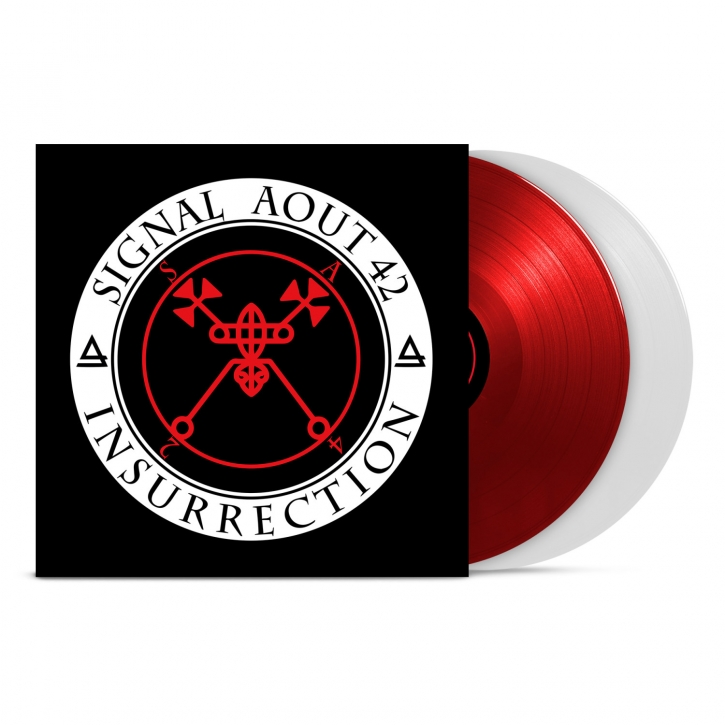 SIGNAL AOUT 42 Insurrection (Limited 2LP Gatefold Red/Transparent VINYL+CD) 2019 (VÖ 07.06)